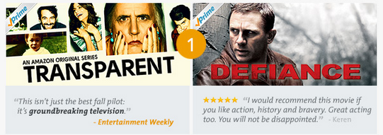 amazon prime instant video 1 Amazon Prime Instant Video Top 10 TV Shows & Movies of the Month!
