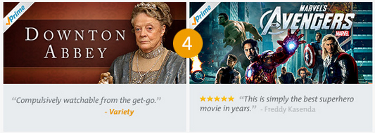 amazon prime instant video 4 Amazon Prime Instant Video Top 10 TV Shows & Movies of the Month!