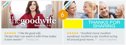 amazon prime instant video 6 Amazon Prime Instant Video Top 10 TV Shows & Movies of the Month!
