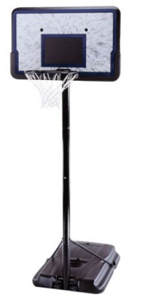 basketball hoop Pro Court Height Adjustable Portable Basketball System with 44 Inch Backboard $99 (Reg. $179.99)