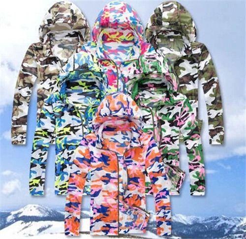 camo waterproof jacket