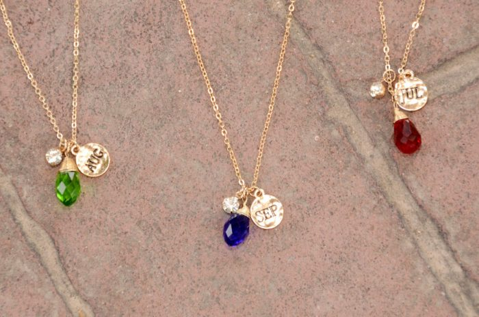 cents of style birthstone necklaces