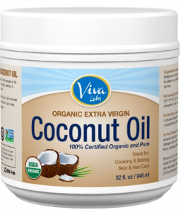 coconut oil 256x300 Organic Extra Virgin Coconut Oil, 32 Ounce $17.56