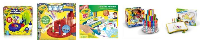 crayola products lightning deals