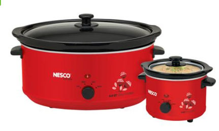 crock pot1 Nesco Slow Cooker Combo Set $27.72 (Reg. $39.88)