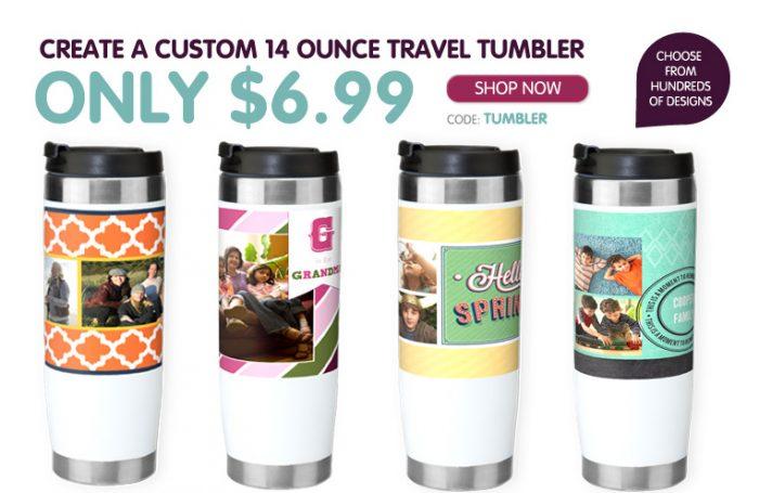 custom 14 ounce traveler tumbler