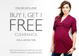 destination maternity buy 1 get 1 free clearance