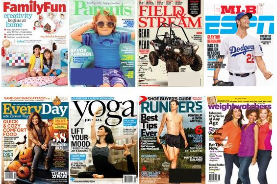 discountmags 5 sale *HOT* $5 Magazine Sale! Includes Runners World, ESPN, Every Day with Rachael Ray, Weight Watchers, Family Fun, MORE!
