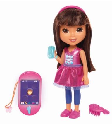 dora Fisher Price Nickelodeon Dora & Friends Talking Dora & Smartphone $23.99 (Reg. $39.99)