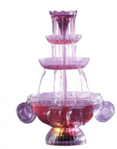 foutain drink 236x300 Vintage Lighted Party Fountain Beverage Set $22.49 (Reg. $49.99)