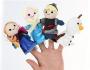 frozen anna elsa kristoff olaf finger puppets