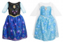 frozen light up anna and elsa dresses