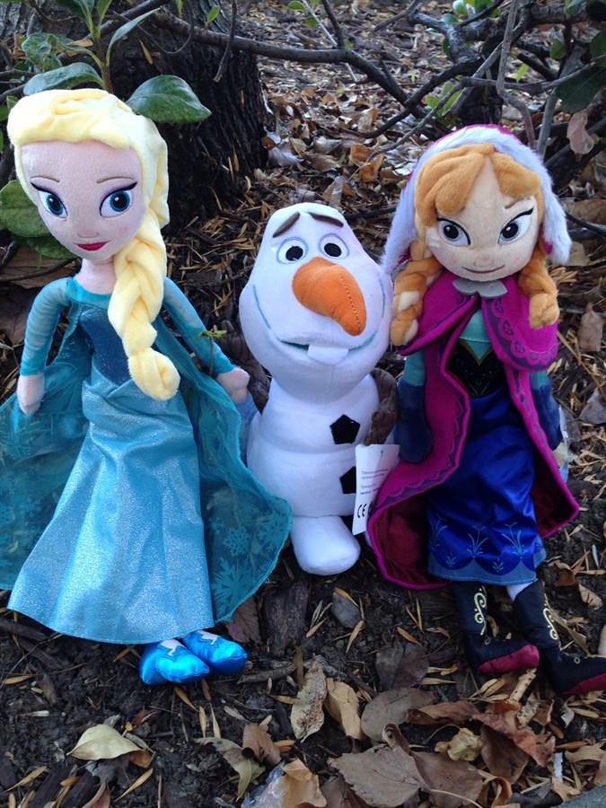 frozen plush elsa anna olaf