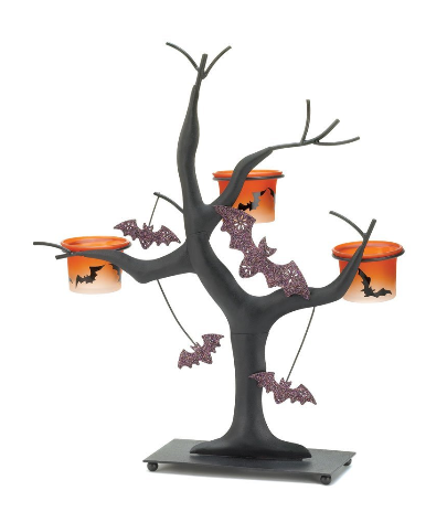 halloween decor tree
