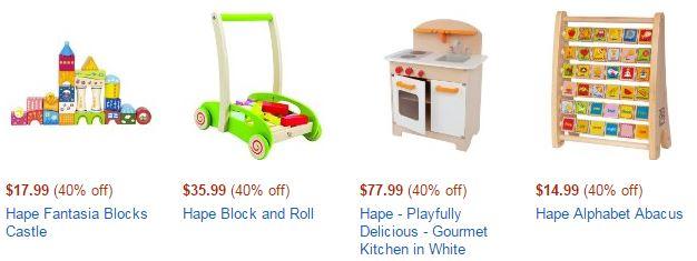 hape toy lightning deals