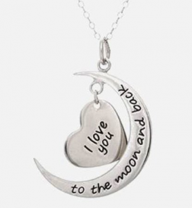 i love you to the moon and back2 277x300 I Love You to the Moon & Back Pendant $9.99 (Reg. $49.99) Shipped