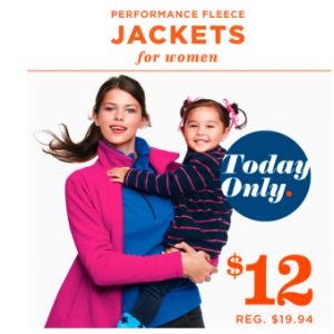 jackets 300x300 OldNavy.com: Free 2 Day Shipping with ANY Order + 30% Off Your Purchase! Performance Fleece Jackets for $12!