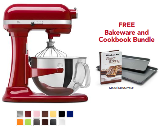 kitchenaid with bakeware bundle *HOT HOT!* KitchenAid Stand Mixer for As Low As $114.99 (After Kohls Cash & Rebate)! *Ends Tonight*