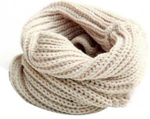 knit infinty scarf 300x238 Knit Wool Blend Loop Scarf/Shawl $5.77 Shipped!