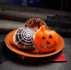 krispy kreme free halloween doughnut