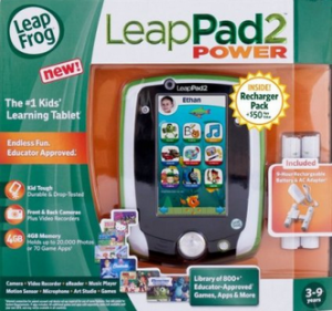 leap pad 2 300x281 LeapFrog LeapPad2 Power Learning Tablet $59.99 (Reg. $99.99)