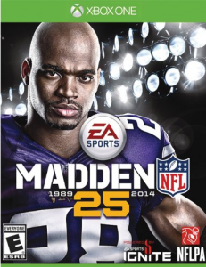 madden251 231x300 Madden NFL 25   XBoxOne, XBox360, Playstation 3 Starting at $14.59