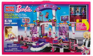 mega block barbie