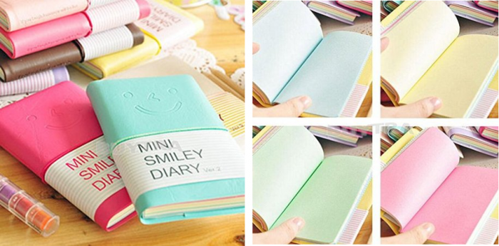 mini diary notebook