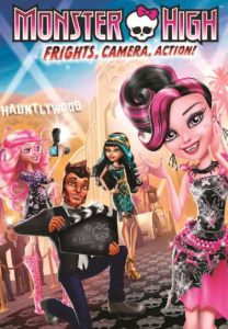 monster high dvd 208x300 Monster High: Frights, Camera, Action! DVD $9.99 (Reg. $19.99)