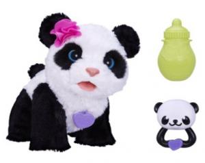 pom pom panda fur real