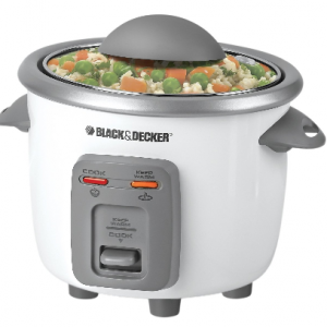 rice cooker 300x300 Black & Decker 3 Cup Rice Cooker $12.68 (Reg. $21.99)