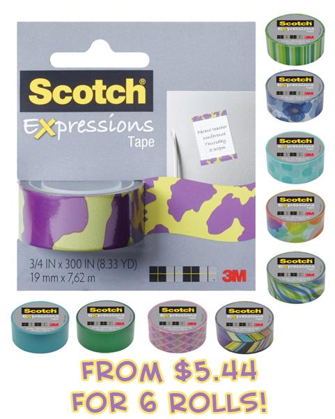 scotch expressions tape