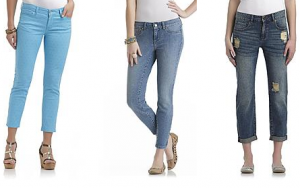 sear pants sale 300x188 Womens and Girls Jeans, Capris and Shorts At Sears Starting at $3.99 (Reg. $54.99)