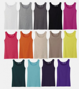 tank tops 269x300 Womens Ribbed Tank Tops $2.08 each! Shipped Free