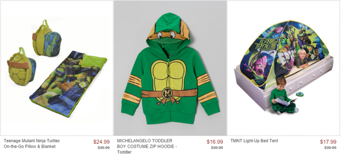 teenage mutant ninja turtle sale on zulily