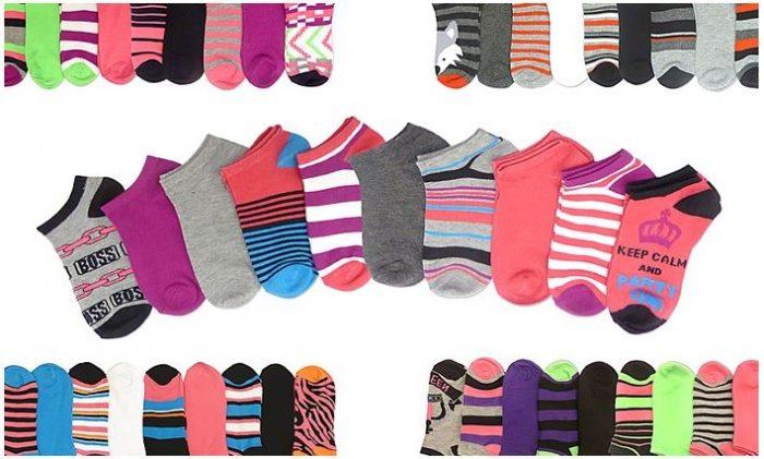 10 pack low cut socks all