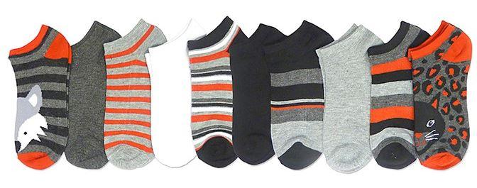 10 pack low cut socks