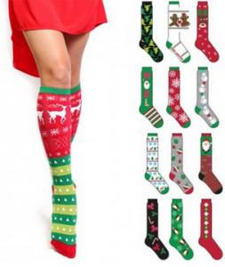 6 pk christmas socks