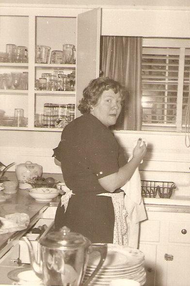 Alice B. Thompson in her kitchen in Hallsboro, NC