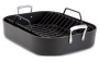 All-Clad Hard Anodized 16-Inch x 13-Inch Large Roasting Pan with Nonstick Rack