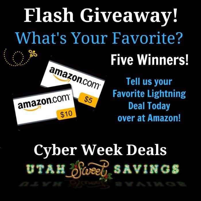 Amazon Flash Giveaway