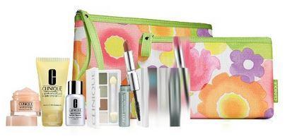 Clinique 7 Pcs Skin Care & Makeup Gift Set
