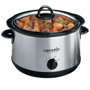 Crock-Pot Regular 5-Quart Round Manual Slow Cooker