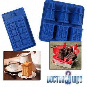 Doctor Who Tardis and Dalek Molds