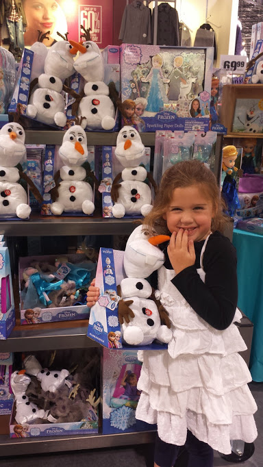 Frozen Olaf with A