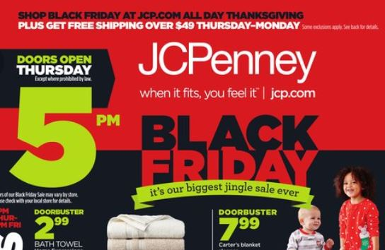 JC Penney black friday ad Black Friday: JCPenney Ad Released! *Check Out the Highlight List!*
