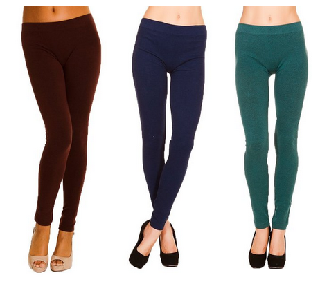 Just One Warm Winter French Terry Leggings