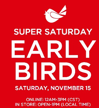 HOT* Kohl's Early Bird Sale is LIVE! (Up to 40% off Toys +