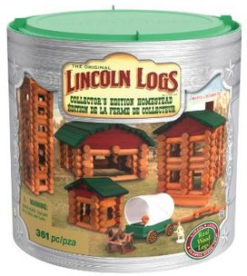 Lincoln-Logs Collector's Edition Homestead Building Set