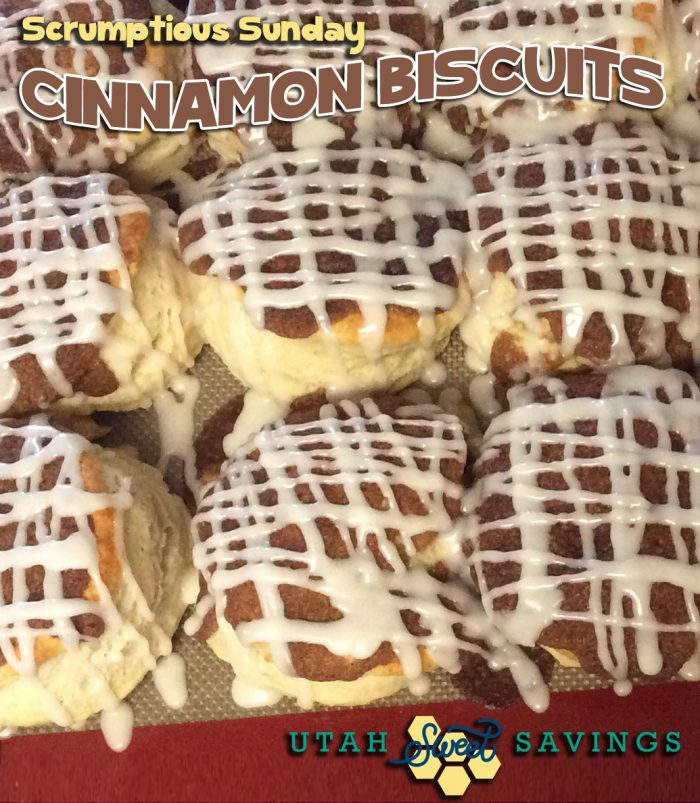 Scrumptious Sunday - Cinnamon Biscuits